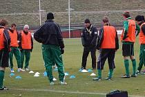 Fotbalisté Baníku Sokolov se připravují na Čáslav