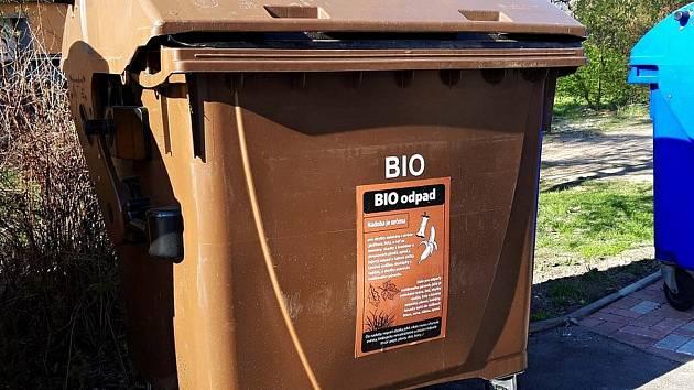 Popelnice na bioodpad. Ilustrační foto.