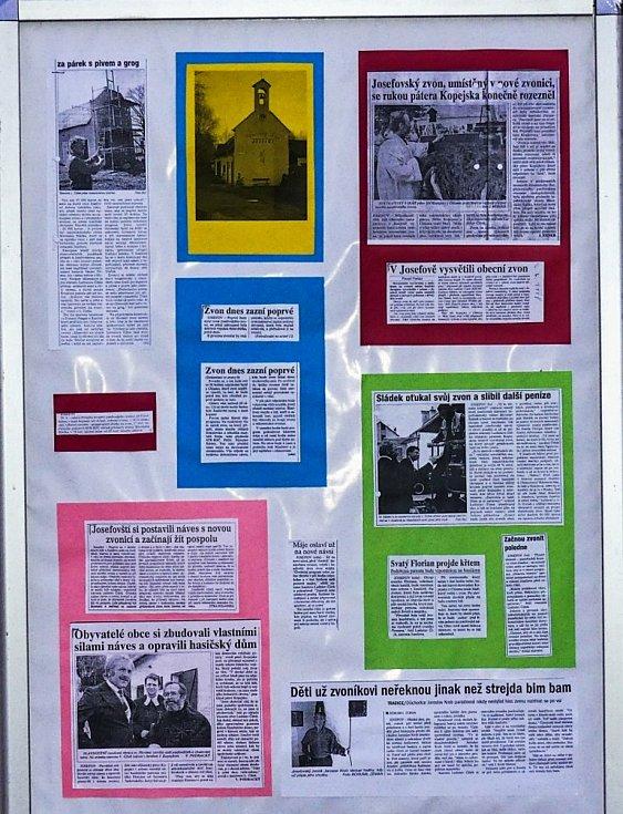 O zvoničce, josefovské raritě, se hodně psalo i v médiích.