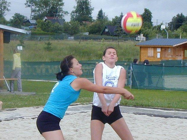 O víkendu v Chodově hrály nejlepší ženy ČR.