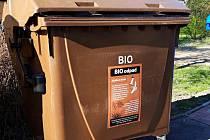 Kontejnery na bioodpad opět slouží lidem