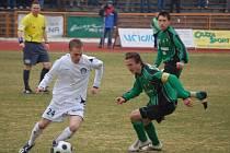 Z utkání FK Baník Sokolov - 1. FC Slovácko.