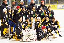 Čtvrtá třída HC Baník Sokolov vyhrála domácí turnaj