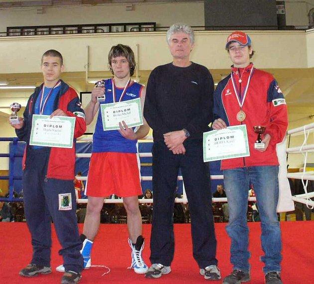 Úspěšní boxeři Sokolova.