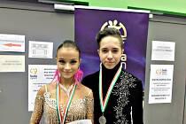 Tomáš Boldiš a Natálie Schindlerová jsou v současnosti juniorský taneční pár číslo jedna v latinskoamerických tancích.