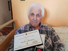 Nejstarší obyvatel Rotavy Svatoslav Karpíšek oslavil stoprvní narozeniny.
