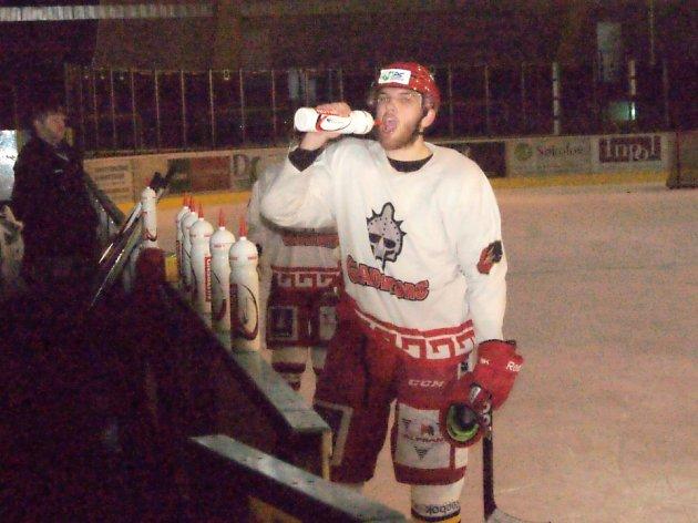 Hokejisté Prostějova trénovali v Sokolově