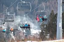 Víkendové lyžování ve Skicentru Bublava - Stříbrná.