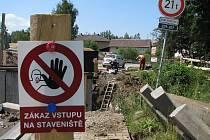 Rekonstrukce průtahu Nové Sedlo - Chranišov.