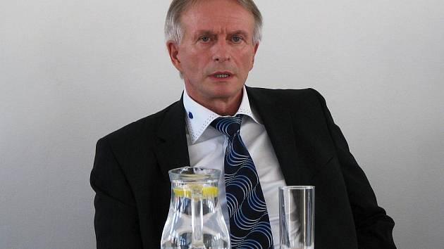 Generální ředitel Sokolovské uhelné František Štěpánek.