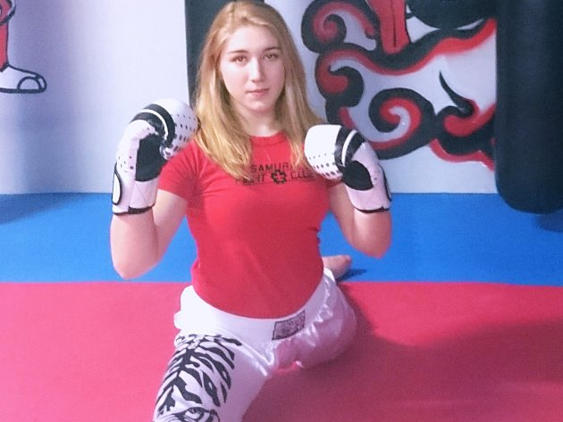 Kickboxerka Tereza Cvingerová