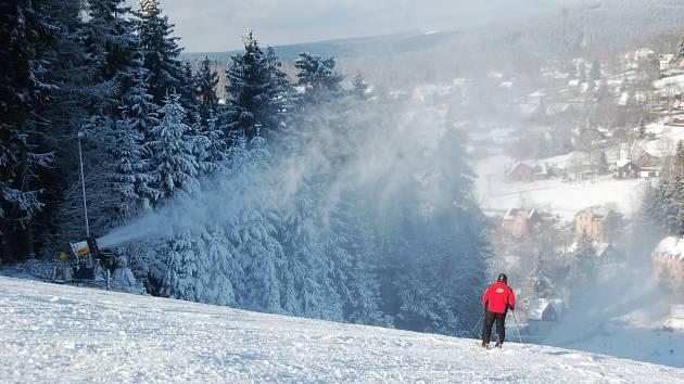 Ski Centrum Bublava - Stříbrná.