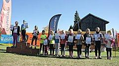 SKI klub Bublava se stará o děti nejen v zimě, ale i v dalších ročních obdobích. Aktuálně se děti účastnily Krušnohorského pohárku.