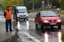 REKONSTRUKCE hlavní příjezdové silnice do Chodova je hotová.