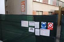 Nemocnice Sokolov, rekonstrukce pavilonu B