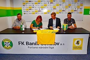 FK Baník Sokolov a MŠ Pionýrů uzavřely partnerství.