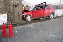 Vážná nehoda v Sokolově.