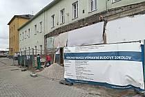 Práce na sokolovském nádraží
