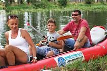 Na Ohři se řada vodáků vydala i u příležitosti Dne Ohře a závodu   O pohár Povodí Ohře na konci července.