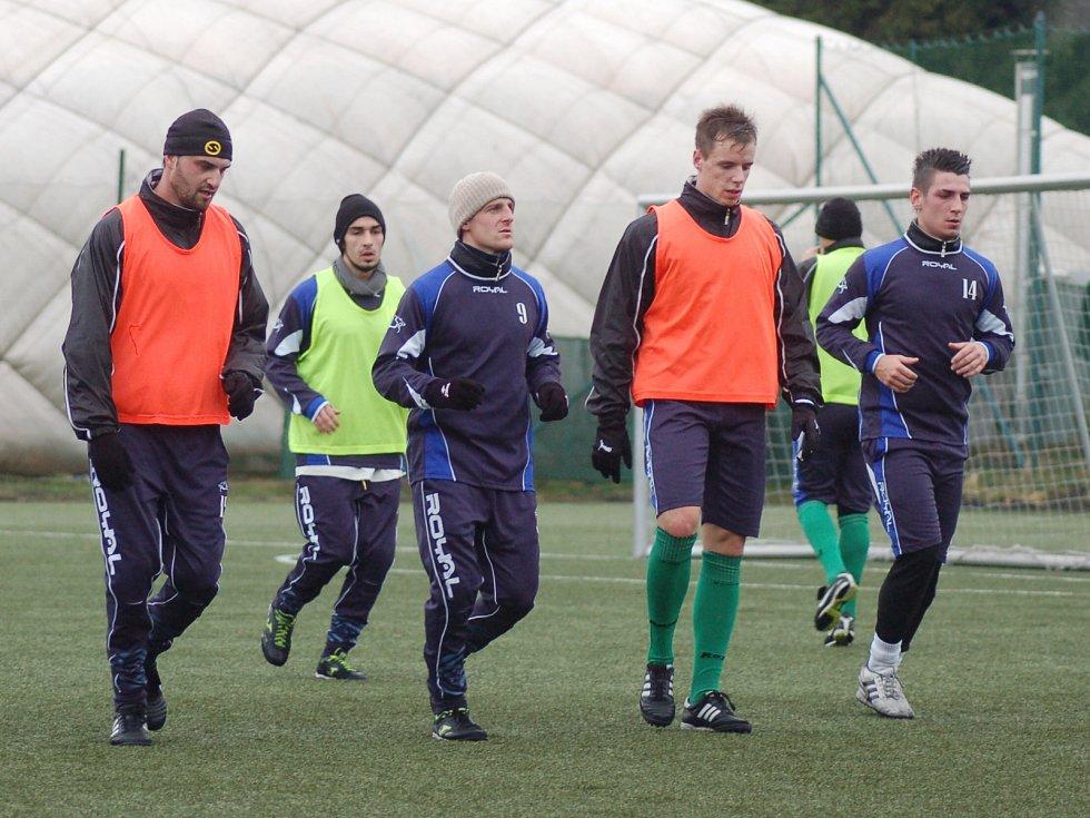 Zímní příprava FK Baník Sokolov