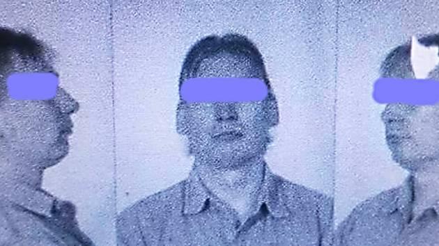 NA SOCIÁLNÍ SÍTI se objevil screenshot propuštěného  muže. Fotografie údajně unikly z policejní databáze