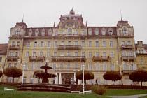 Hotel Město Výmar na snímku z roku 2002.