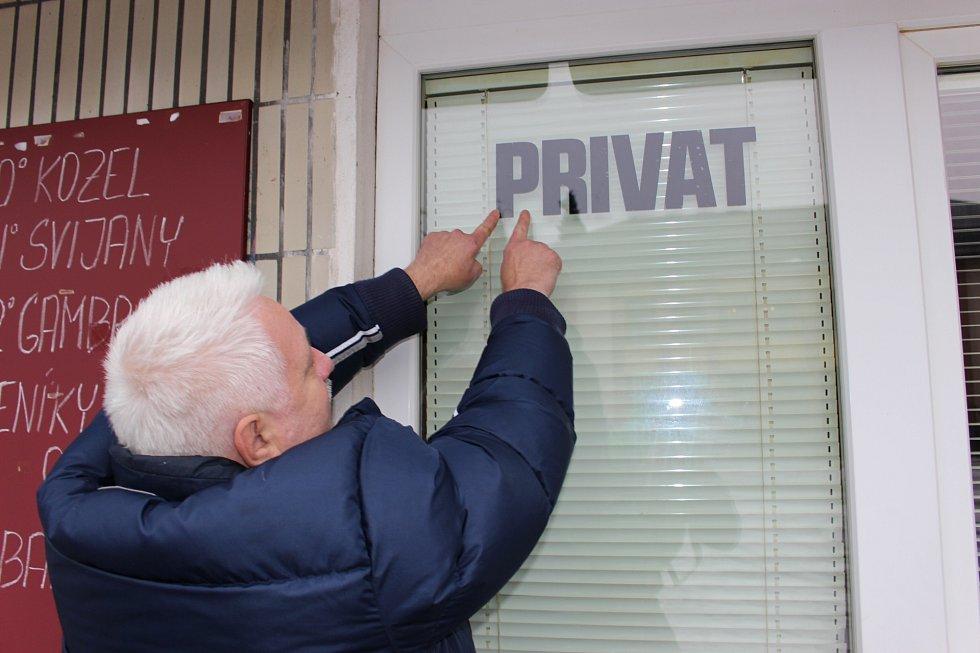 Vladimír Hron udělal ze své restaurace privátní klub