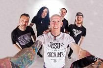 Honza Kirk Běhůnek se svojí kapelou Seven, se kterou natočil už několik CD.