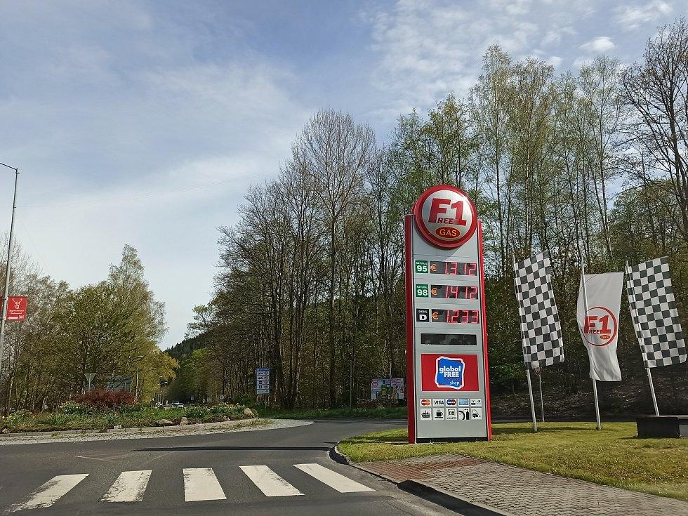 Němci vzali útokem čerpací stanice u nás, Češi zase tamní markety.