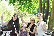 Žáci ZUŠ se představili veřejnosti například během Mini ZUŠ open v Lokti.