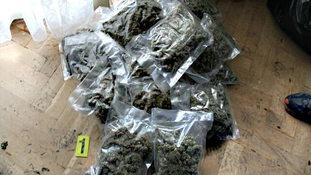 PŘI DOMOVNÍ prohlídce nalezli policisté přes tři kila marihuany.