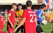 5. kolo FNL, FK Baník Sokolov - FK Fotbal Třinec 1:0.