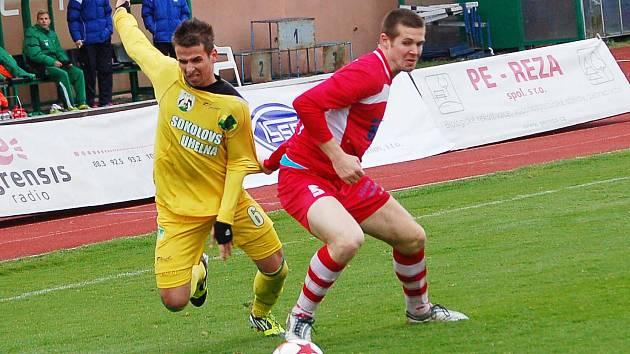Druhá fotbalová liga: Baník Sokolov - Slovan Varnsdorf