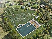 PŘÍRODNÍ BIOTOP. Takto by se v budoucnu mohla proměnit vodní nádrž na Glasbergu v Kraslicích.