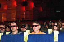 3D projekce přilákala do sokolovského kina stovky lidí