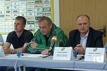 Tisková konference FK Baník Sokolov před začátkem sezony