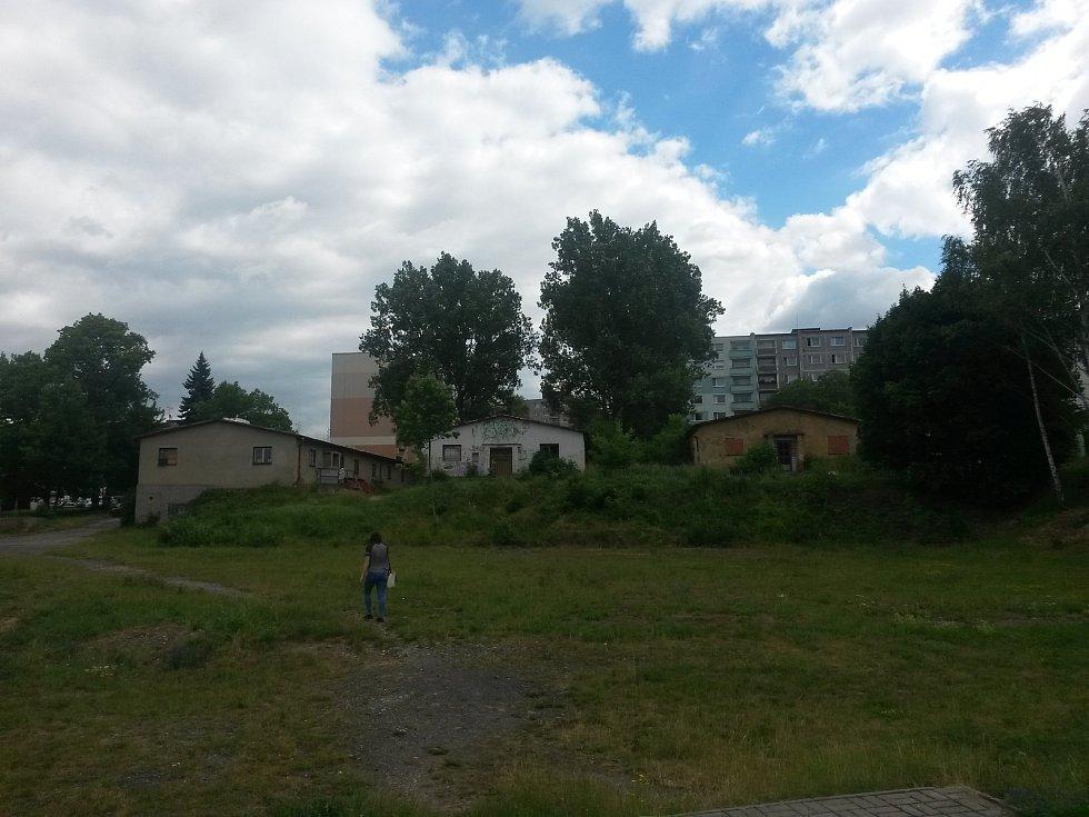 Objekty bývalých kasáren