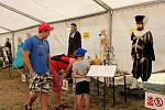 Výstava přiblížila české dějiny dětem i dospělým.