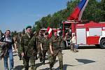 Společné cvičení příhraničních zemských velitelství Bundeswehru Spolkové republiky Německo a krajských vojenských velitelství AČR.