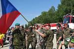 V areálu sokolovské Bohemie se konal devátý ročník součinnostního cvičení příhraničních krajských vojenských velitelství Armády České republiky a zemských velitelství Durynska a Saska.