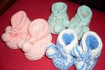 Ponožtičky pro novorozence