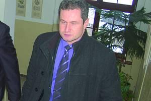 Starosta Oloví Miroslav Filandr.