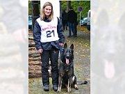 Ilona Duchoňová je jediná žena mezi služebními psovody policie Karlovarského kraje.