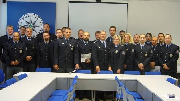První místo v soutěži Cena nejlepší praxe patří obvodnímu oddělení Sokolov–město.
