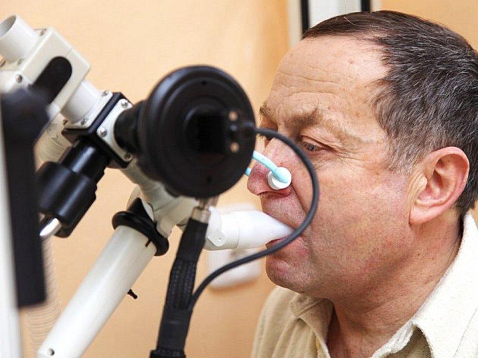 Den otevřených dveří v ordinacích plicních specialistů se koná ve čtvrtek 13. září.