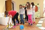 Novou výstavu otestovali třeťáci ze Základní školy Kynšperk nad Ohří.