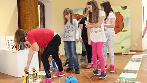 Třeťáci otestovali novou výstavu