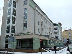 Městské byty v komplexu Ohře v Sokolově.