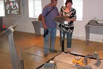 SOUČÁSTÍ EXPOZICE Zábavně-naučného centra řeky Ohře jsou četné interaktivní modely.