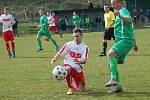 Krajský přebor: Sokol Citice (v zeleném) - FK Toužim